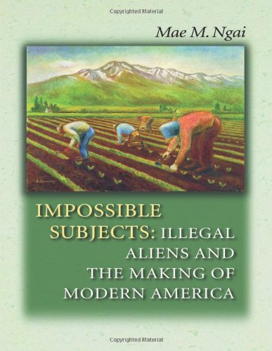 Impossible Subjects: Illegal Aliens And The Making Of Modern America (Politics And Society In Modern America)