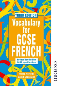 Vocabulary for GCSE French - 3rd Edition