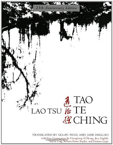 Tao Te Ching, 25Th-Anniversary Edition (English And Mandarin Chinese Edition)