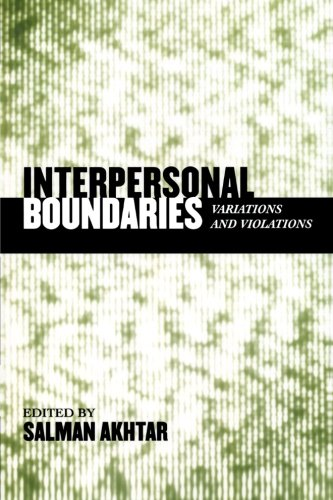 Interpersonal Boundaries: Variations and Violations (Margaret S. Mahler)