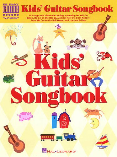 KIDS GUITAR SONGBOOK         EZ PLAY GUITAR WITH          TABLATURE