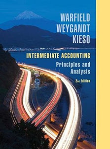 Intermediate Accounting: Principles And Analysis
