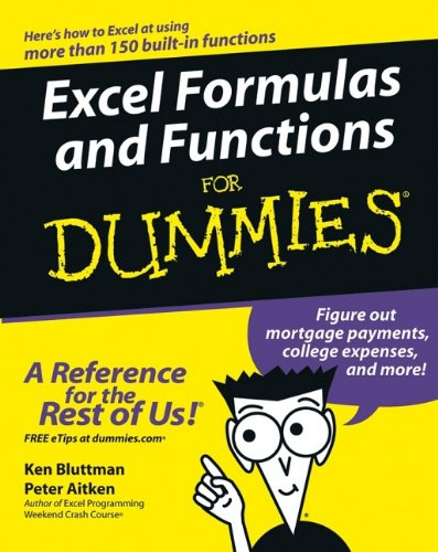 Excel Formulas and Functions For Dummies (For Dummies (Computers))