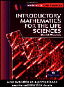 Introductory Mathematics for the Life Sciences (Modules in Life Science Series)