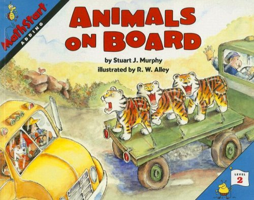 Great Source Mathstart: Student Reader Animals On Board: Adding
