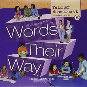 WORDS THEIR WAY LEVEL K CD-ROM 2005C