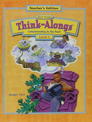 Think Alongs: Level C (Think-Alongs (Teachers Guides)) (Steck-Vaughn Think Alongs)