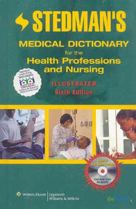 Stedman's Medical Dictionary for the Health Professions and Nursing, Illustrated (Point (Lippincott Williams & Wilkins))