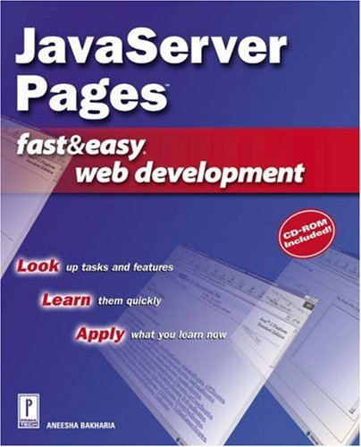 JavaServer Pages Fast & Easy Web Development w/CD