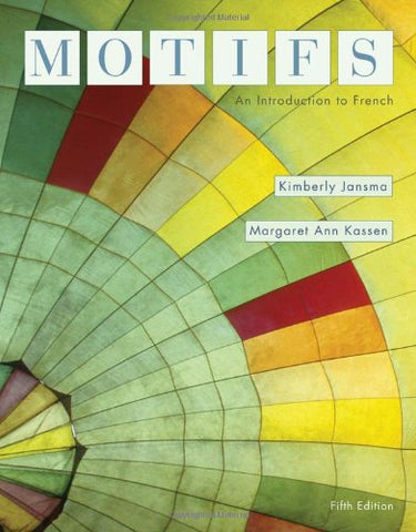 Motifs: An Introduction To French (Available Titles Ilrn: Heinle Learning Center)