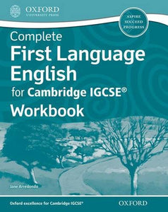 Complete First Language English for Cambridge IGCSERG Workbook