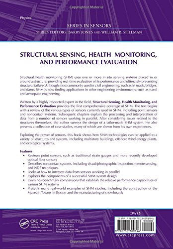 Structural Sensing, Health Monitoring, and Performance Evaluation (Series in Sensors)