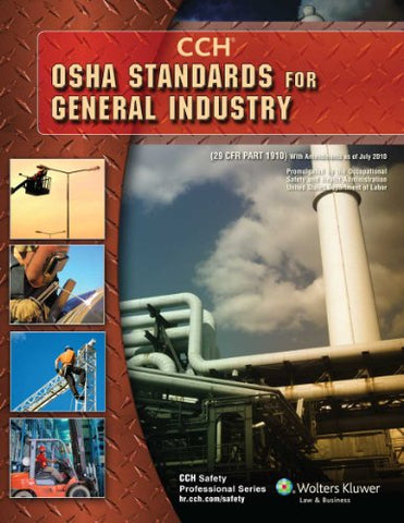 OSHA Standards for General Industry as of 08/2010