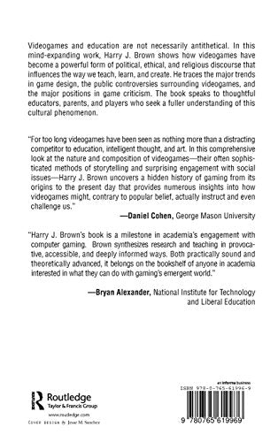Videogames and Education (History, Humanities, and New Technology)
