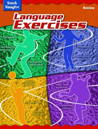 Steck-Vaughn Language Exercises: Student Edition Grades 5-8 Review