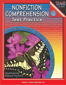 Nonfiction Comprehension Test Practice, Level 6
