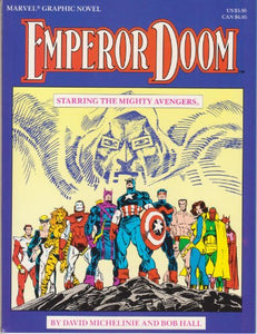 Marvel Graphic Novel #27  Emperor Doom Starring the Mighty Avengers