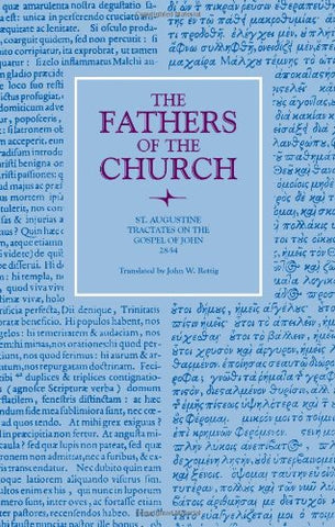 088: St. Augustine Tractates on the Gospel of John 28-54 (Fathers of the Church (Hardcover))
