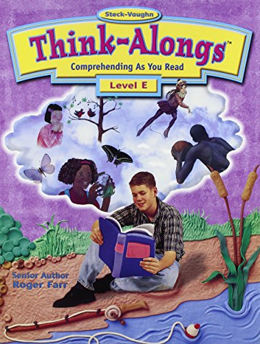 Steck-Vaughn Think Alongs: Student Workbook   (Level E)