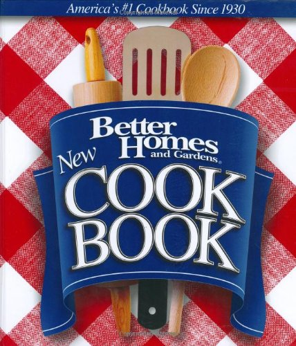 New Cook Book (Better Homes and Gardens Test Kitchen)