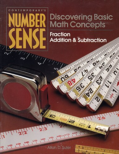 Number Sense: Fraction - Addition & Subtraction (Contemporary's Number Sense: Discovering Basic Math Concepts)