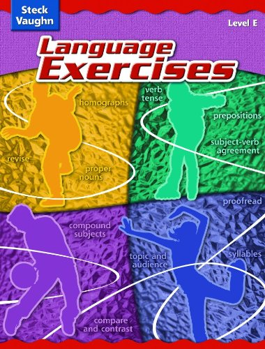 Steck-Vaughn Language Exercises: Student Edition Grade 5 Level E