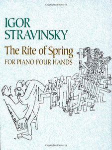 The Rite of Spring for Piano Four Hands (Dover Music for Piano)