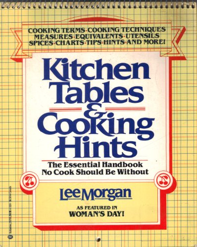 Kitchen Tables & Cooking Hints