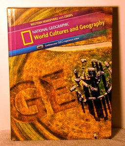 World Cultures And Geography Western Hemisphere With Europe: Student Edition (World Cultures And Geography Copyright Update)