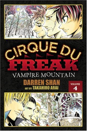 Cirque Du Freak: The Manga, Vol. 4: Vampire Mountain