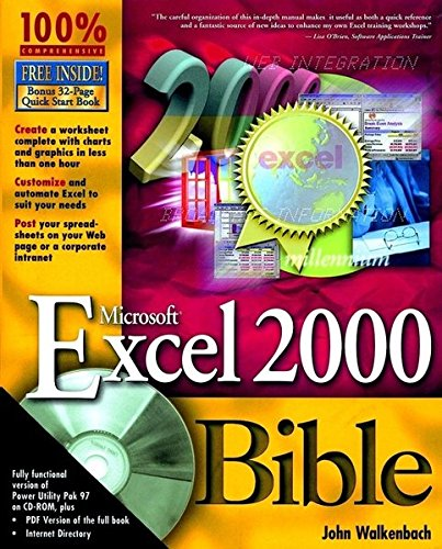 Microsoft Excel 2000 Bible