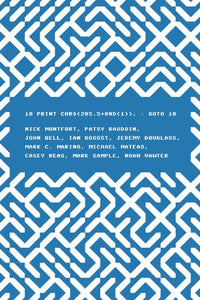 10 PRINT CHR$(205.5+RND(1)); : GOTO 10 (Software Studies)