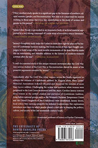 Burying the Dead but Not the Past: Ladies' Memorial Associations and the Lost Cause (Civil War America)