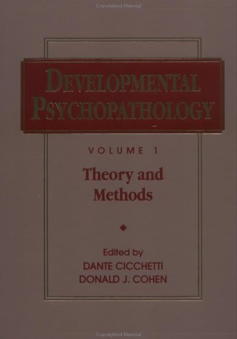 Developmental Psychopathology, Theory and Methods (Wiley Series on Personality Processes) (Volume 1)