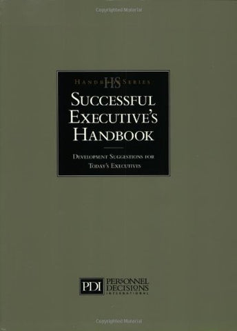 Successful Executive'S Handbook