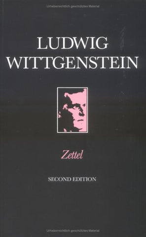 Zettel (Open University Set Books)