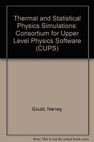 Thermal and Statistical Physics Simulations (Cups)