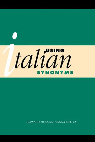 Using Italian Synonyms