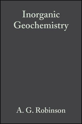 Inorganic Geochemistry: Applications to Petroleum Geology