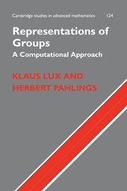 Representations of Groups: A Computational Approach (Cambridge Studies in Advanced Mathematics)