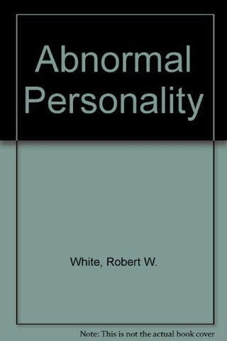 The Abnormal Personality