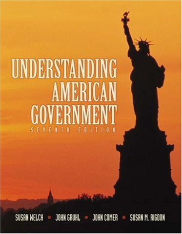 Understanding American Government (with InfoTrac)