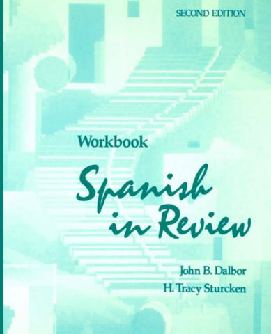 Workbook to accompany Spanish in Review, 2e