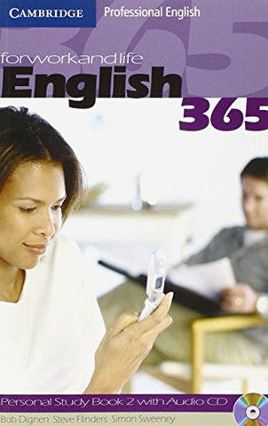 English365 2 Personal Study Book with Audio CD (Cambridge Professional English)