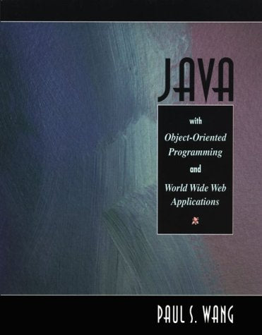 Java(tm) with Object-Oriented Programming