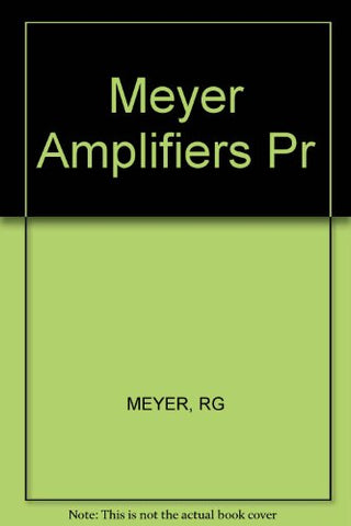 Integrated-Circuit Operational Amplifiers (IEEE Press Selected Reprint Series)
