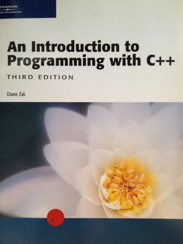 An Introduction to Programming with C++, Third Edition