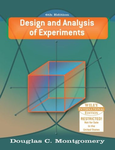 WIE Design and Analysis of Experiments