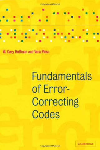 Fundamentals of Error-Correcting Codes