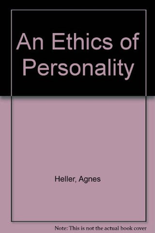 An Ethics of Personality